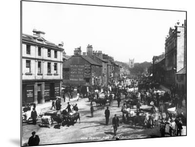 Skipton High Street, C.1900--Mounted Photographic Print