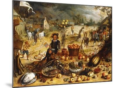 The Four Seasons - Autumn-Sebastian Vrancx-Mounted Giclee Print