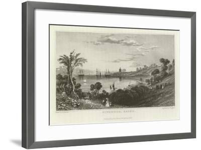 Wivenhoe, Essex-William Henry Bartlett-Framed Giclee Print