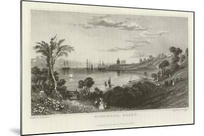 Wivenhoe, Essex-William Henry Bartlett-Mounted Giclee Print