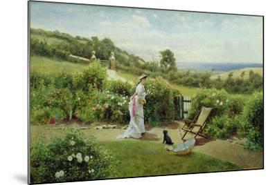 In the Garden, 1903-Thomas James Lloyd-Mounted Giclee Print