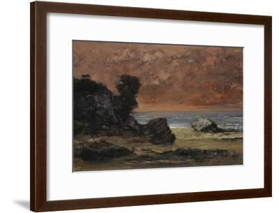 After the Storm, 1872-Gustave Courbet-Framed Giclee Print