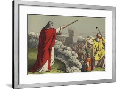 The Passage of the Red Sea--Framed Giclee Print