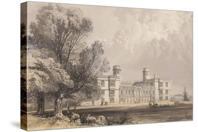 Castle Ashby, Northamptonshire-Frederick William Hulme-Stretched Canvas Print