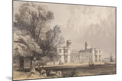 Castle Ashby, Northamptonshire-Frederick William Hulme-Mounted Giclee Print