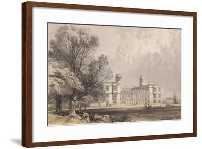 Castle Ashby, Northamptonshire-Frederick William Hulme-Framed Giclee Print