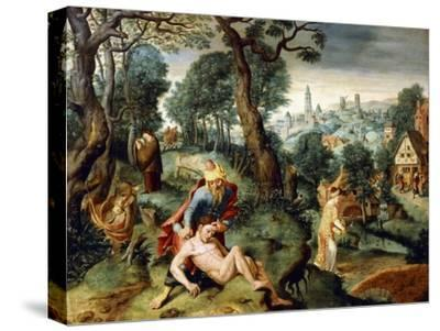 The Parable of the Good Samaritan--Stretched Canvas Print