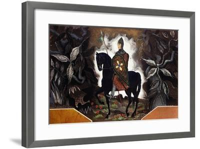 Le Chevalier Normand, C.1932-Francois-Louis Schmied-Framed Giclee Print