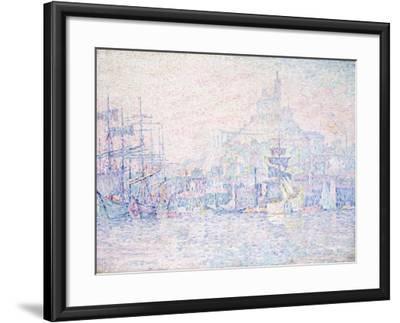 Marseille, La Bonne Mere, Morning Mist, 1907-Paul Signac-Framed Giclee Print