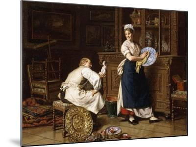 Spring Cleaning, 1876-Evert-jan Boks-Mounted Giclee Print