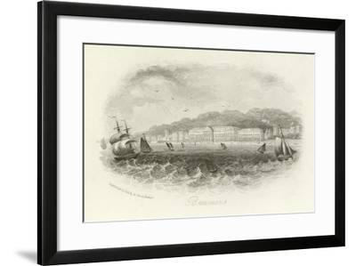 Beaumaris, Anglesey, Wales--Framed Giclee Print