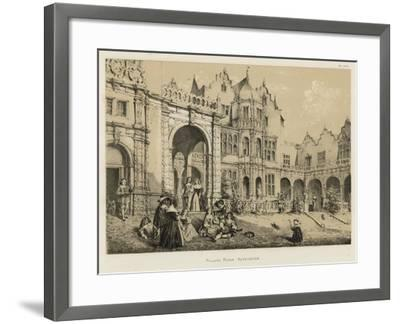 Holland House, Kensington-Joseph Nash-Framed Giclee Print