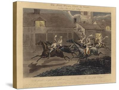 The First Steeplechase on Record-Henry Thomas Alken-Stretched Canvas Print