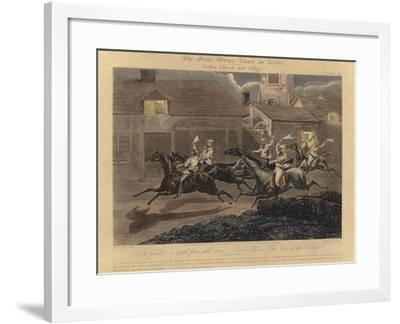 The First Steeplechase on Record-Henry Thomas Alken-Framed Giclee Print