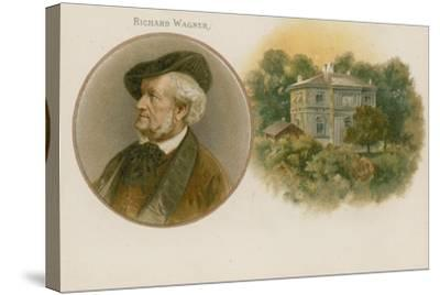 Richard Wagner, German Composer--Stretched Canvas Print