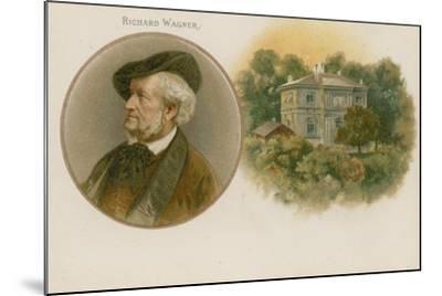 Richard Wagner, German Composer--Mounted Giclee Print