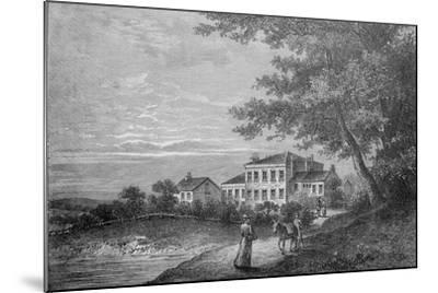 The Retreat--Mounted Giclee Print