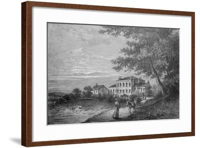 The Retreat--Framed Giclee Print