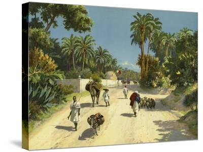 Tripoli, Libya, Africa--Stretched Canvas Print