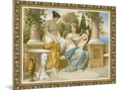 Ancient Greek or Roman Costume--Mounted Premium Giclee Print