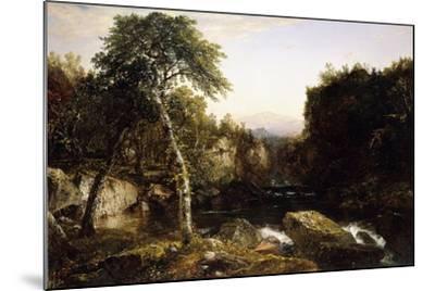Franconia Mountains, 1854-John Frederick Kensett-Mounted Giclee Print