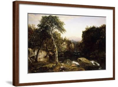 Franconia Mountains, 1854-John Frederick Kensett-Framed Giclee Print