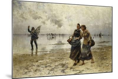 Low Tide-August Wilhelm Nikolaus Hagborg-Mounted Giclee Print