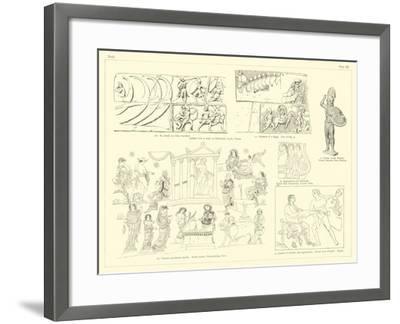 Homer's Iliad--Framed Giclee Print