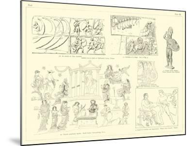 Homer's Iliad--Mounted Giclee Print