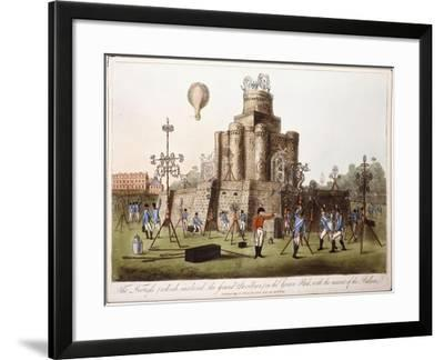 The Fortress--Framed Giclee Print