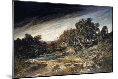 The Gust of Wind, C.1855-Gustave Courbet-Mounted Giclee Print