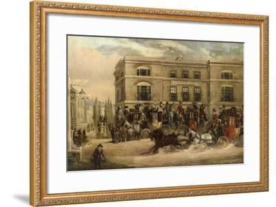 The Elephant and Castle, Brighton Road, London-J.C. Maggs-Framed Giclee Print