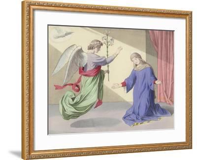 The Annunciation--Framed Giclee Print