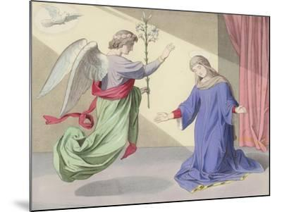 The Annunciation--Mounted Giclee Print