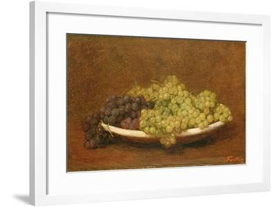Still Life of Grapes, C.1894-Henri Fantin-Latour-Framed Giclee Print