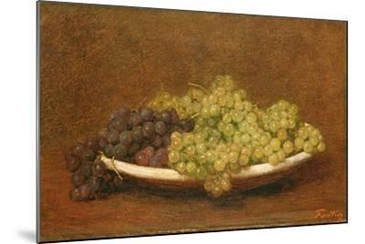 Still Life of Grapes, C.1894-Henri Fantin-Latour-Mounted Giclee Print