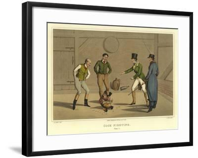 Cock Fighting-Henry Thomas Alken-Framed Giclee Print