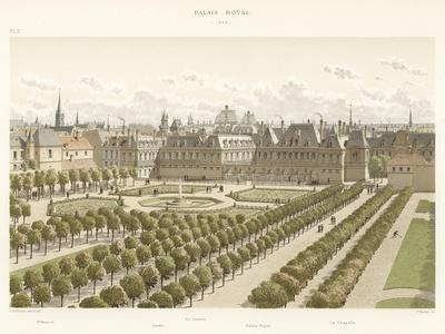 Palais Royal, 1645--Framed Giclee Print