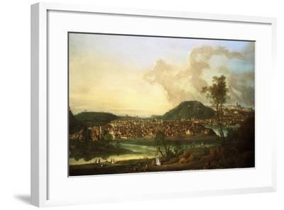 View of Prague from the East-Johann Friedrich Meyer-Framed Giclee Print