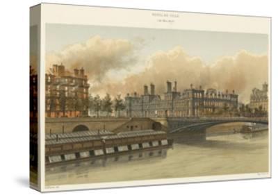 Hotel De Ville, 24 Mai 1871--Stretched Canvas Print