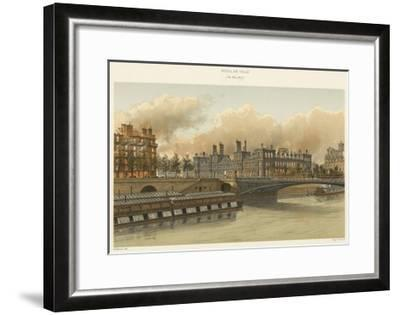 Hotel De Ville, 24 Mai 1871--Framed Giclee Print