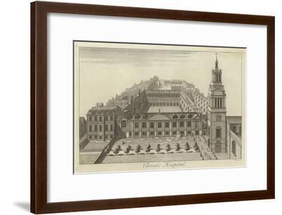 Christ's Hospital, London--Framed Giclee Print