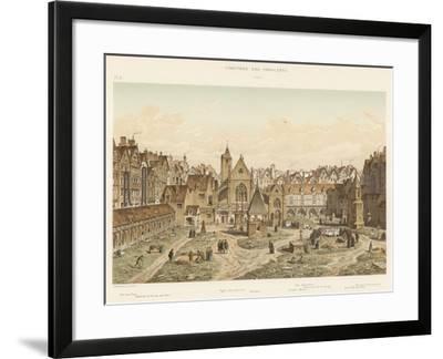 Cimetiere Des Innocents, 1550--Framed Giclee Print