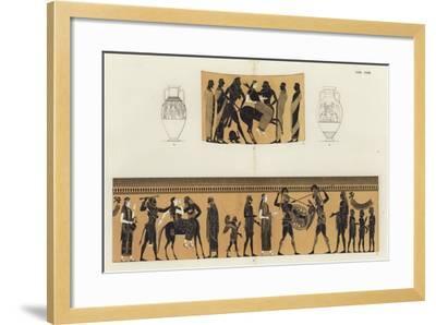 Deianira and Nessus-German School-Framed Giclee Print