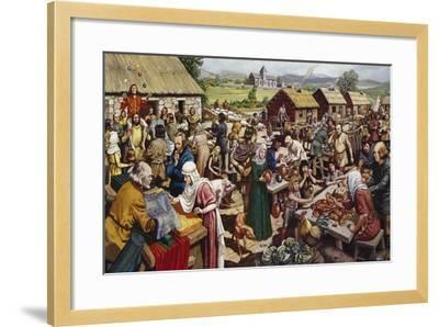 Saxon Village Fair-Mike White-Framed Giclee Print