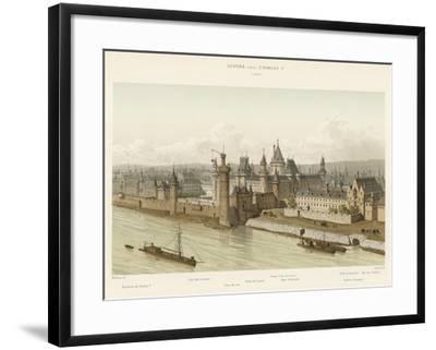 Louvre Sous Charles V, 1380--Framed Giclee Print