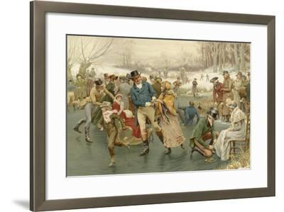 A Merry Christmas-Frank Dadd-Framed Giclee Print