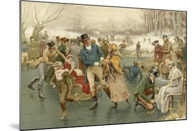 A Merry Christmas-Frank Dadd-Mounted Giclee Print