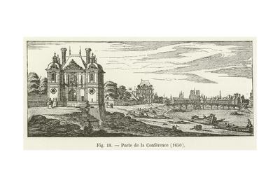 Porte De La Conference, 1650--Framed Giclee Print