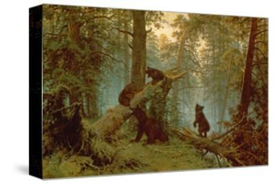 Morning in a Pine Forest, 1889-Ivan Ivanovitch Shishkin-Stretched Canvas Print